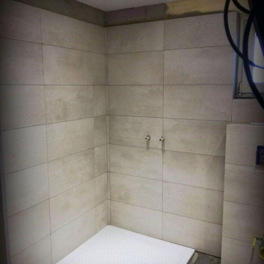 Dusche nach der Renovierung